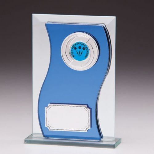 Azzuri Wave Mirror Plaque 125mm